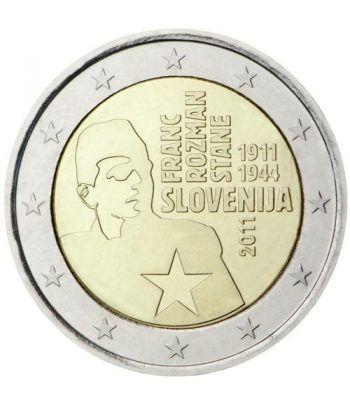 moneda conmemorativa 2 euros Eslovenia 2011.  - 2
