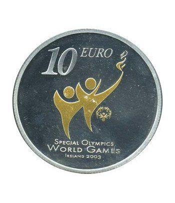 Irlanda 10 Euros (colores-olympics) 2003 (estuche)  - 1
