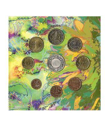 Cartera oficial euroset Grecia 2010 + 10€ Biodiversidad.  - 4
