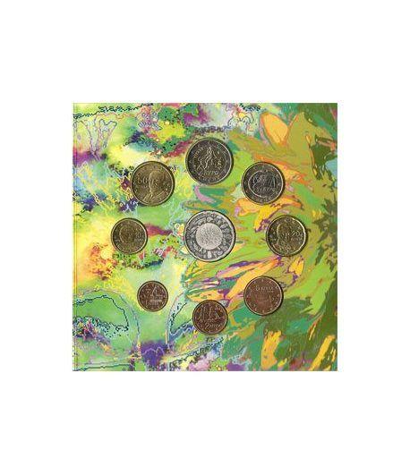 Cartera oficial euroset Grecia 2010 + 10€ Biodiversidad.  - 1