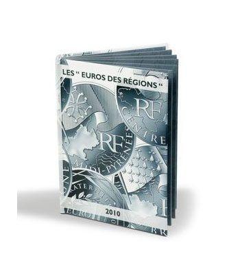 """LEUCHTTURM Vista Album monedas """"EUROS DES RÉGIONS"""" Album Monedas Euro - 4"""