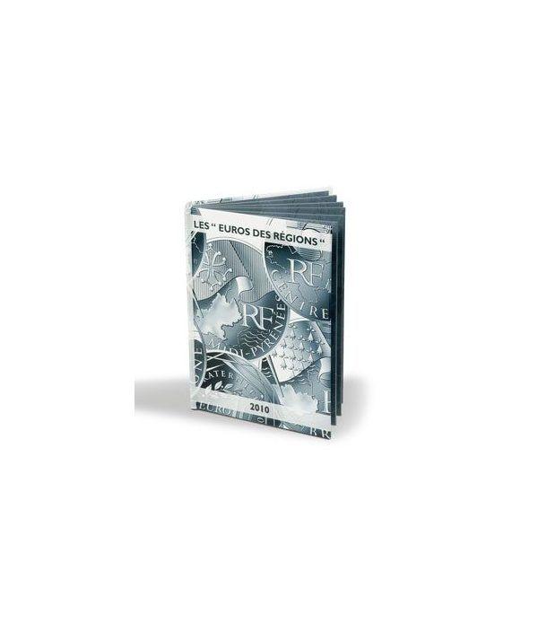 """LEUCHTTURM Vista Album monedas """"EUROS DES RÉGIONS"""" Album Monedas Euro - 1"""