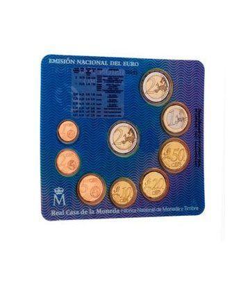 Cartera oficial euroset España 2011 + 2€ Alhambra Granada  - 2
