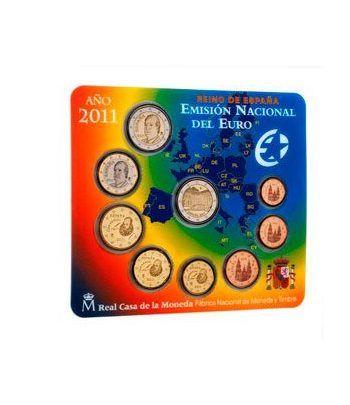 Cartera oficial euroset España 2011 + 2€ Alhambra Granada  - 1