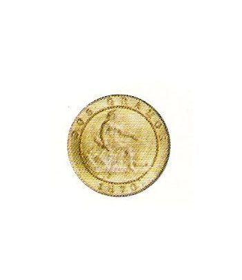 2 céntimos 1870 Barcelona OM - MBC  - 2