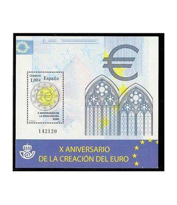 4496 X Aniversario de la creación del euro.  - 2