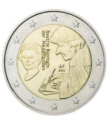 moneda conmemorativa 2 euros Holanda 2011.  - 2