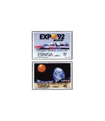 2875/76A  EXPO'92  - 2