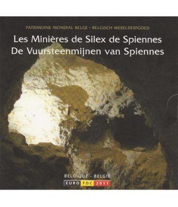 Cartera oficial euroset Belgica 2011  - 2