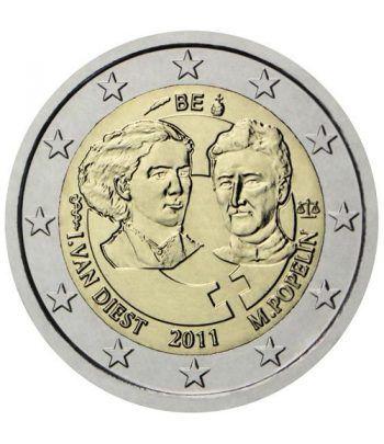 moneda conmemorativa 2 euros Belgica 2011.  - 2