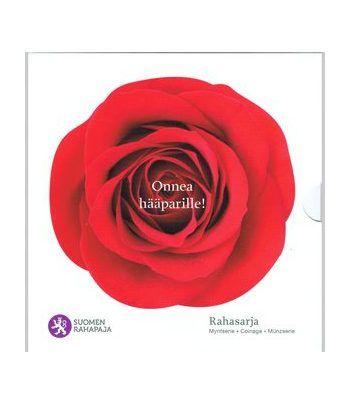 Cartera oficial euroset Finlandia 2011. Boda.  - 2