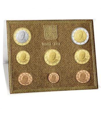 Cartera oficial euroset Vaticano 2011  - 2