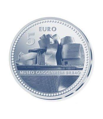Moneda 2011 Capitales de provincia. Bilbao. 5 euros. Plata.  - 2
