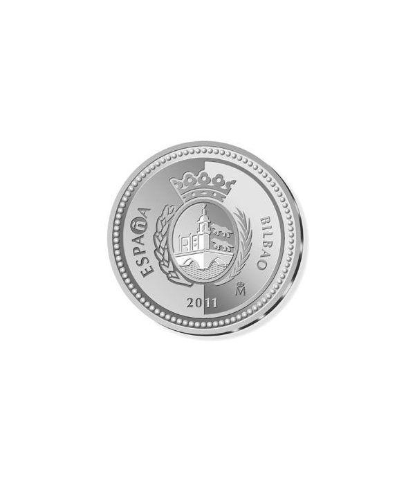 Moneda 2011 Capitales de provincia. Bilbao. 5 euros. Plata.  - 1