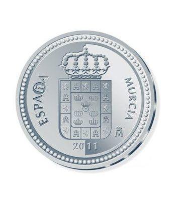 Moneda 2011 Capitales de provincia. Murcia. 5 euros. Plata.  - 1