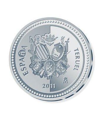 Moneda 2011 Capitales de provincia. Teruel. 5 euros. Plata  - 1