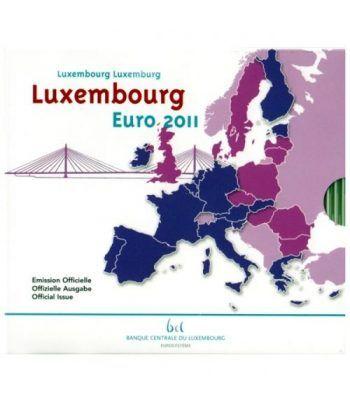 Cartera oficial euroset Luxemburgo 2011 (incluye 2€ conmemorat.)  - 1