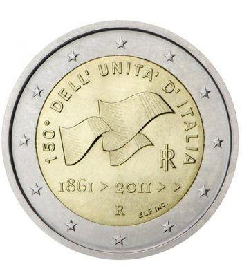 moneda conmemorativa 2 euros Italia 2011.  - 2