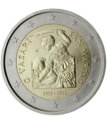 moneda conmemorativa 2 euros San Marino 2011. Est. Oficial  - 2