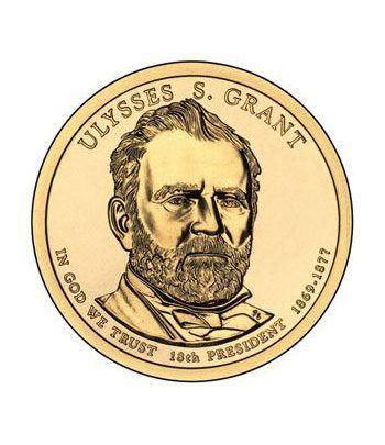 E.E.U.U. 1$ (2011) 18º  Presidencial Ulysses S. Grant (2cecas)  - 2