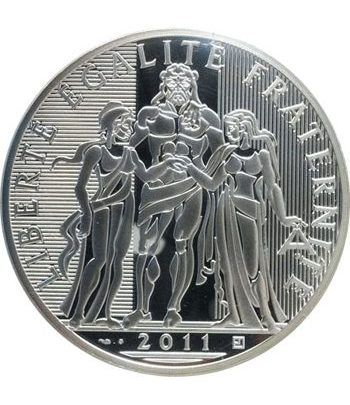 Francia 100 € 2011 Hercules. Plata.  - 1