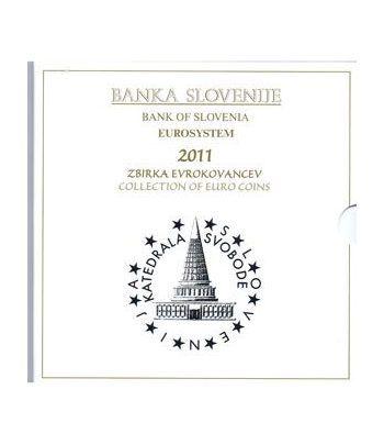 Cartera oficial euroset Eslovenia 2011 (incluye 2 y 3 euros)  - 4