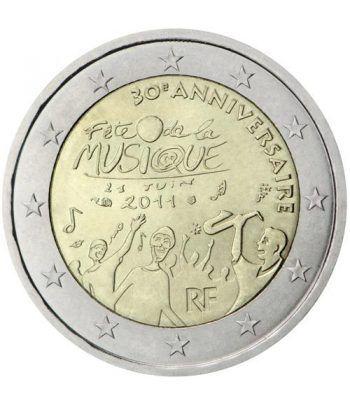 moneda conmemorativa 2 euros Francia 2011.  - 2
