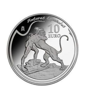 Moneda 2011 Pintores Españoles. Zurbarán. 10 euros. Plata.  - 1