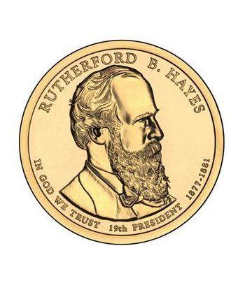 E.E.U.U. 1$ (2011) 19º Presidencial Rutherford B. Hayes (2cecas)  - 2