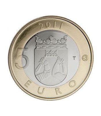 moneda Finlandia 5 Euros 2011 (6ª). Karelia.  - 1