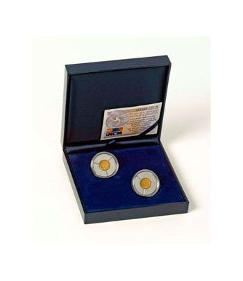 Monedas 2011 25º Aniv. España y Portugal en la U.E. Conjunta Oro  - 1