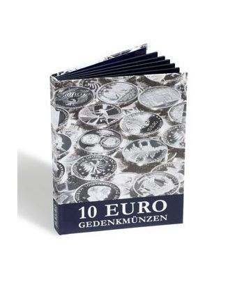 LEUCHTTURM Vista Album monedas Conmemorativas 10 Euros Alemanes.  - 1