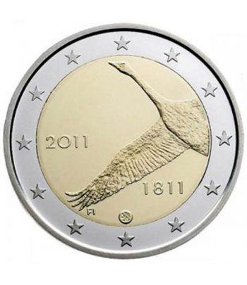 moneda conmemorativa 2 euros Finlandia 2011.  - 2