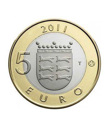 moneda Finlandia 5 Euros 2011 (7ª). Ostrobothnians.  - 1