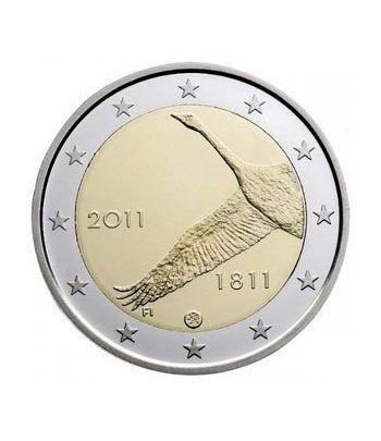 Cartera oficial euroset Finlandia 2011 (incluye moneda 2€)  - 2