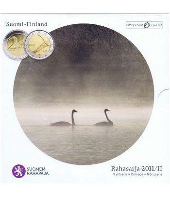 Cartera oficial euroset Finlandia 2011 (incluye moneda 2€)  - 1