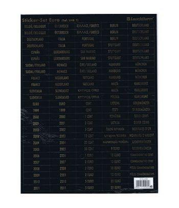 LEUCHTTURM Etiquetas para bandejas (monedas resto del mundo).  - 2