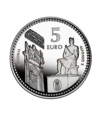 Moneda 2011 Capitales de provincia. Ciudad Real. 5 euros. Plata.  - 2