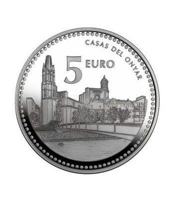 Moneda 2011 Capitales de provincia. Girona. 5 euros. Plata.  - 2