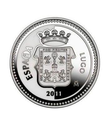Moneda 2011 Capitales de provincia. Lugo. 5 euros. Plata.  - 1