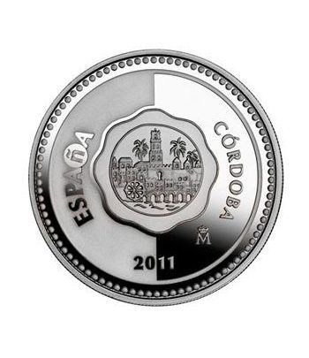 Moneda 2011 Capitales de provincia. Córdoba. 5 euros. Plata.  - 1