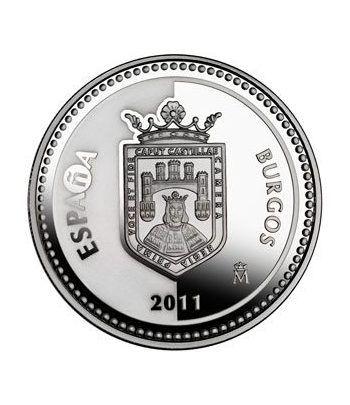 Moneda 2011 Capitales de provincia. Burgos. 5 euros. Plata.  - 1