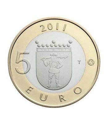moneda Finlandia 5 Euros 2011 (8ª). Lappi.  - 1