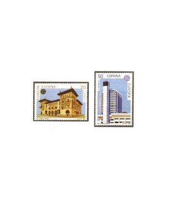 3058/59 Europa. Establecimientos Postales  - 2