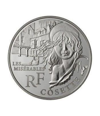 Francia 10 € 2011 Cosette (Los Miserabes).  - 1