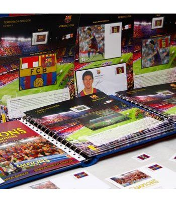 Colección Filatélica Oficial F.C. Barcelona. Pack nº01.  - 2