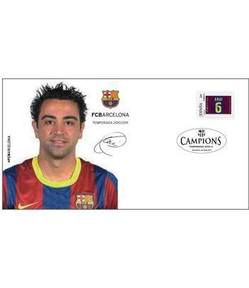Colección Filatélica Oficial F.C. Barcelona. Pack nº01.  - 4