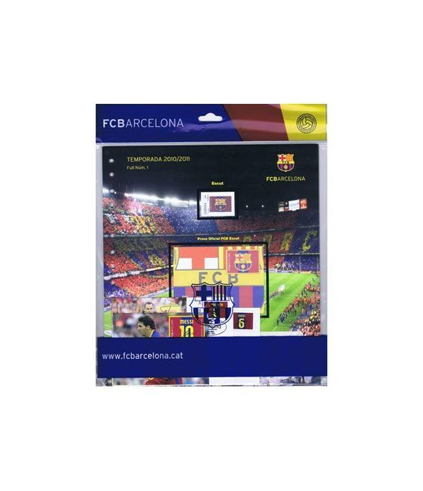 Colección Filatélica Oficial F.C. Barcelona. Pack nº01.  - 1