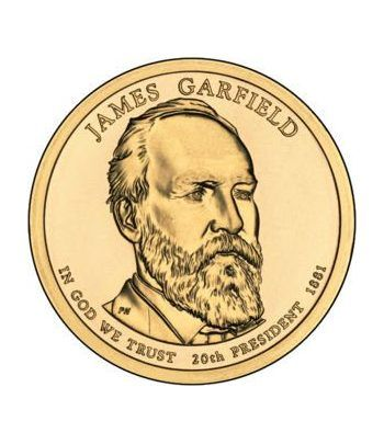 E.E.U.U. 1$ (2011) 20º Presidencial James A. Garfield (2cecas).  - 2
