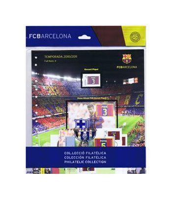 Colección Filatélica Oficial F.C. Barcelona. Pack nº03.  - 1